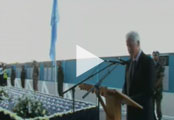 President Clinton's address at the one-year memorial service